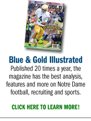 Blue & Gold Illustrated Magazine